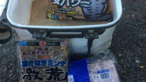 名古屋港チヌのウキフカセ釣りサナギ釣法のまとめ【3.エサとポイント選び】(2019年版)