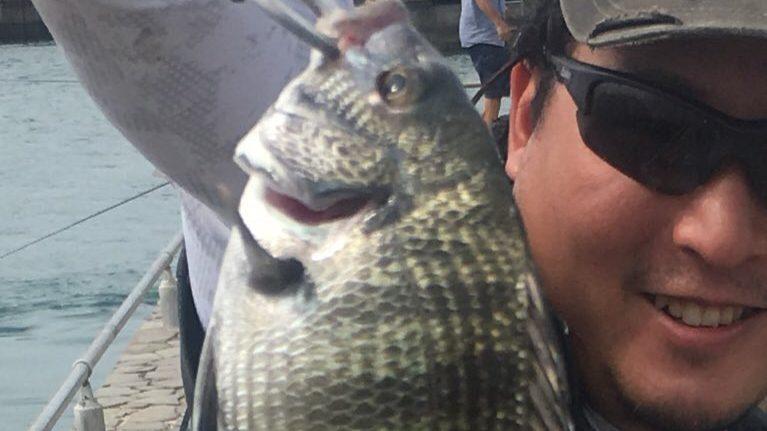 久々の浜名湖ダンゴ釣り 初心者氏パニックの巻